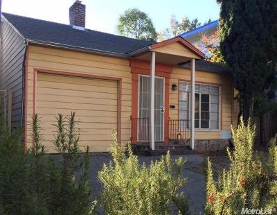 Sacramento Single Family Home For Sale: 1511 22nd Street