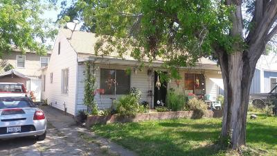 Sacramento CA Single Family Home For Sale: $270,000
