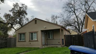 Sacramento Single Family Home For Sale: 4200 35th Street