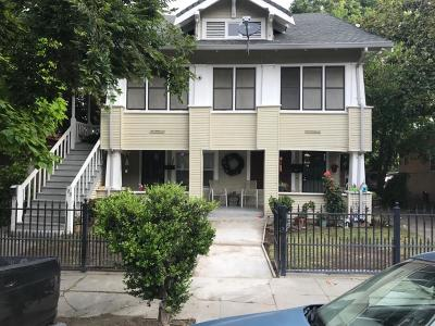 Stockton Multi Family Home For Sale: 121 East Jefferson Street