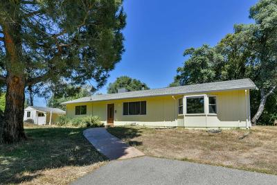 Placerville Single Family Home For Sale: 3940 Freedom Rd