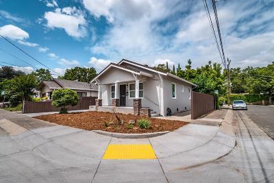 Sacramento Single Family Home For Sale: 2600 20th Street