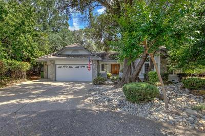 Rancho Murieta Single Family Home For Sale: 6510 Camino De Luna