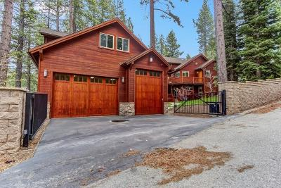South Lake Tahoe CA Single Family Home For Sale: $2,899,999