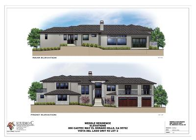 El Dorado Hills Residential Lots & Land For Sale: 806 Castec Way