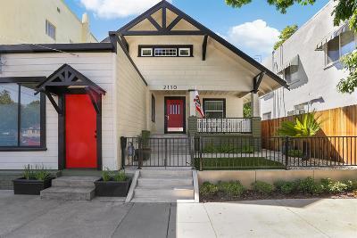 Sacramento Single Family Home For Sale: 2110 16th Street
