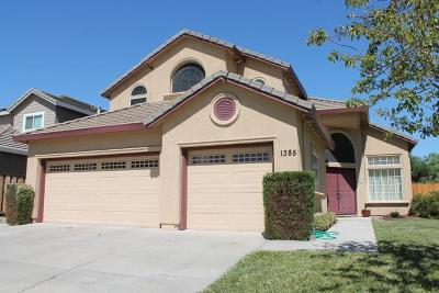 Tracy Single Family Home For Sale: 1385 Yorkshire Loop
