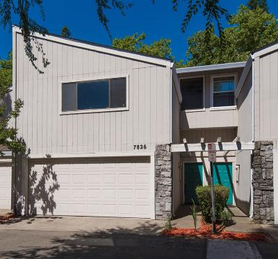 Citrus Heights Condo For Sale: 7826 Windsor Lane