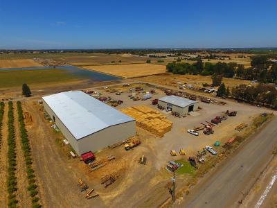 Yolo County Commercial Lots & Land For Sale: 33782 County Road 25