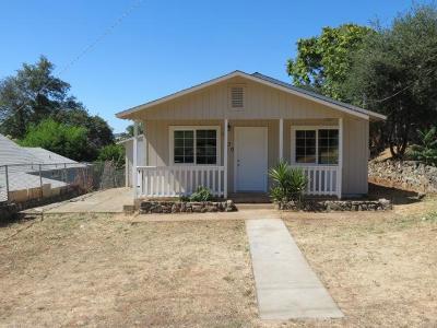 Oroville Single Family Home For Sale: 1830 Elgin Street
