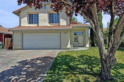 Tracy Single Family Home For Sale: 33 James Court