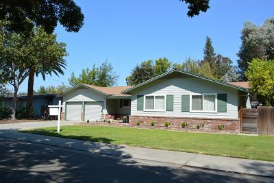 Stockton Single Family Home For Sale: 1609 Cameron Way