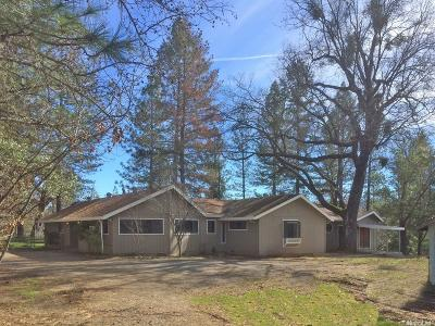 Single Family Home For Sale: 3203 Pioneer Hill Road