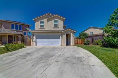 Merced Single Family Home For Sale: 1351 Poppy Ridge Court