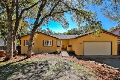 Cameron Park Single Family Home For Sale: 2523 Deer Trail Lane