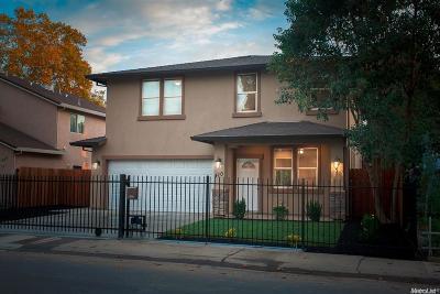 Sacramento Single Family Home For Sale: 410 Cleveland Avenue