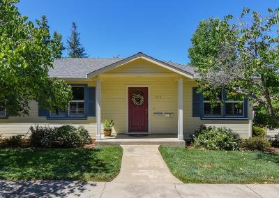Folsom Single Family Home Active Rel. Clause: 612 Orange Grove Way #612 1/2