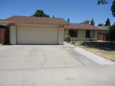Turlock Single Family Home For Sale: 225 Wiley Court