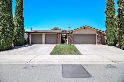Roseville Multi Family Home For Sale: 1411 Cardinal Way