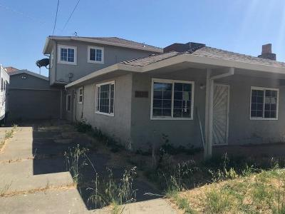 West Sacramento Single Family Home For Sale: 3125 Gladys Avenue