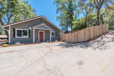 Placerville Single Family Home For Sale: 4331 Blanchard Road