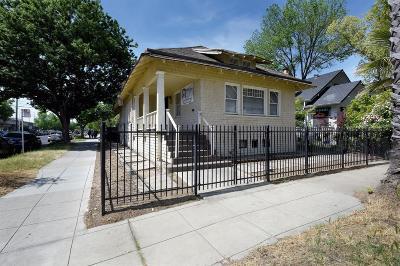 Sacramento Single Family Home For Sale: 2830 O Street