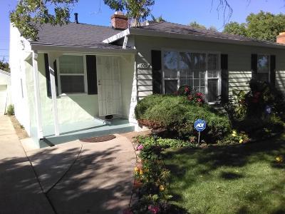Sacramento Single Family Home For Sale: 601 Flint