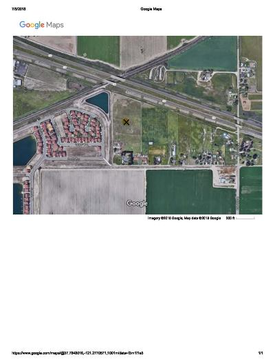 Manteca Commercial Lots & Land For Sale: 2371 Bronzan Road
