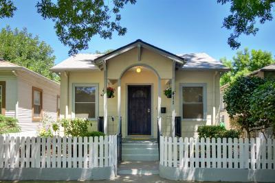 Sacramento Single Family Home For Sale: 411 U Street