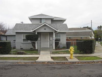 Tracy Single Family Home For Sale: 98 West 3rd Street