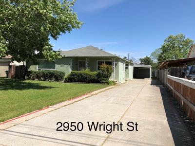 Sacramento Single Family Home For Sale: 2950 Wright Street