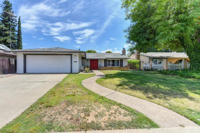 Sacramento Single Family Home For Sale: 9623 Elmira Circle