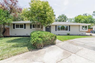 Sacramento  Single Family Home For Sale: 1471 Campbell Lane