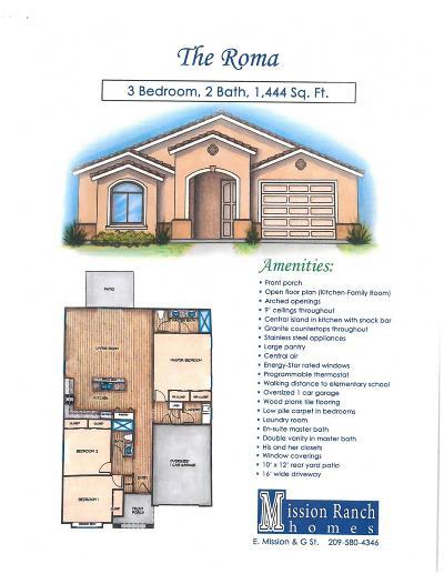 Merced Single Family Home For Sale: 529 Cadiz Court