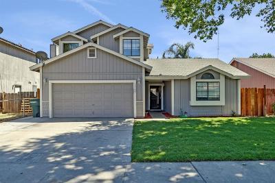 Modesto CA Single Family Home For Sale: $309,000