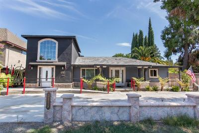 Stockton Single Family Home For Sale: 3118 Country Club Boulevard