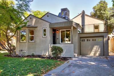 Sacramento Single Family Home For Sale: 2733 Harkness Street