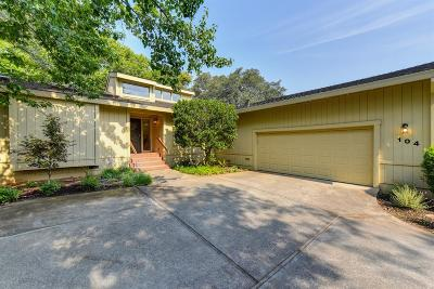 Folsom Single Family Home For Sale: 104 Winding Canyon Lane