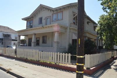 Stockton Multi Family Home For Sale: 1046 North Commerce Street