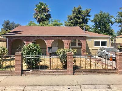 Stockton Single Family Home For Sale: 2875 Raymond Avenue