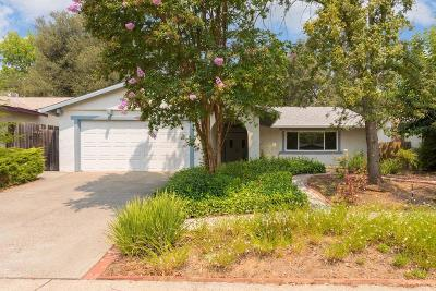 Orangevale Single Family Home For Sale: 8413 Palmaire Way