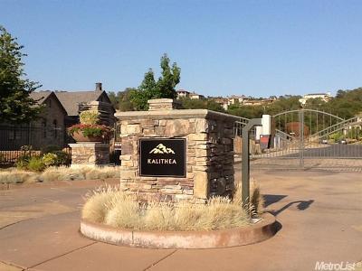El Dorado Hills Residential Lots & Land For Sale: 2561 Capetanios Drive
