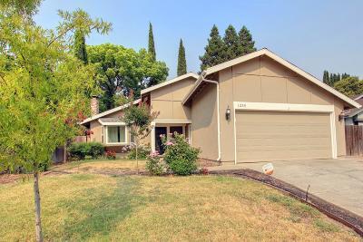 Sacramento Single Family Home For Sale: 1255 Trail End Way
