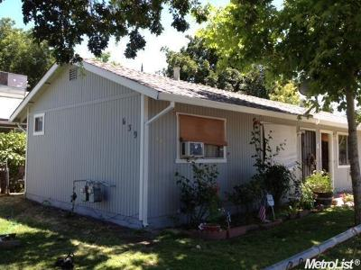 West Sacramento Multi Family Home For Sale: 639 James Street