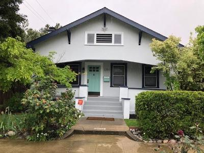 Single Family Home For Sale: 3350 Serra Way