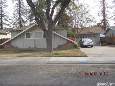 Modesto CA Single Family Home For Sale: $279,888