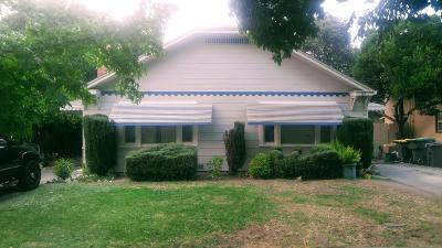 Stockton CA Multi Family Home For Sale: $225,000