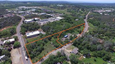 Shingle Springs Commercial Lots & Land For Sale: Durock Rd