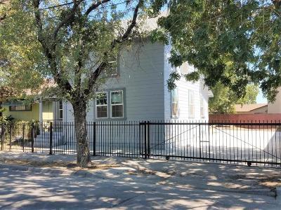 Stockton Single Family Home For Sale: 236 West Jefferson Street
