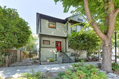 Sacramento Single Family Home For Sale: 1500 19th Street